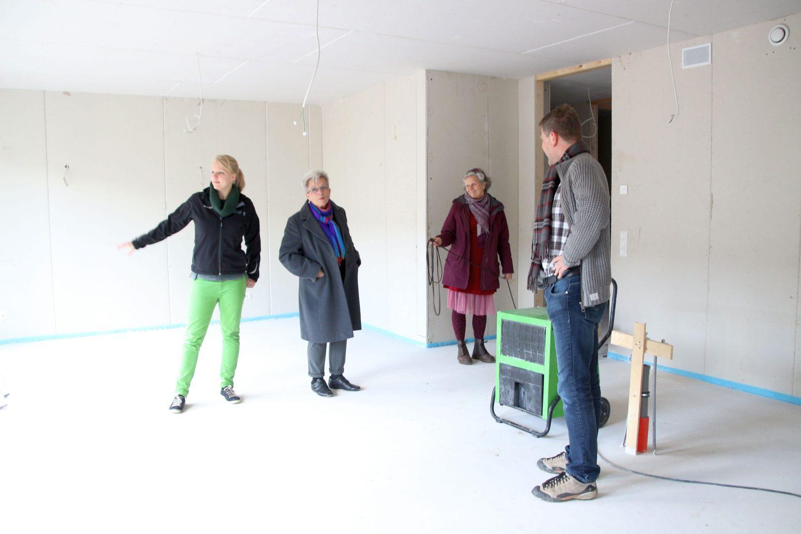 2015 Besichtigung der Baustelle